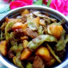 【原创首发】土豆炖豆角的做法步骤