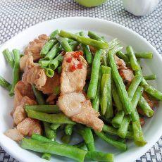 豆角炒肉的做法步骤