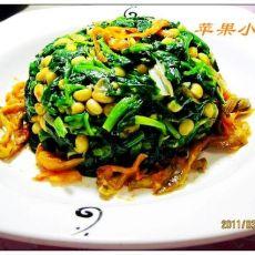 黄豆芽菠菜塔的做法步骤