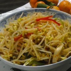 凉拌黄豆芽的做法步骤